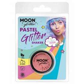 Moon Glitter Pastel Glitter Shakers Coral