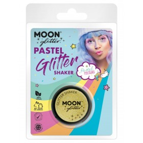 Moon Glitter Pastel Glitter Shakers Lemon Yellow