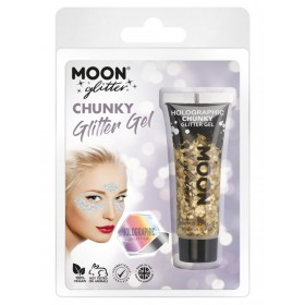 Moon Glitter Holographic Chunky Glitter Gel Gold