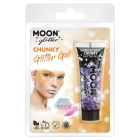 Moon Glitter Iridescent Chunky Glitter Gel Purple