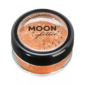 Moon Glitter Iridescent Glitter Shakers Orange