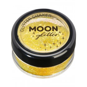 Moon Glitter Iridescent Glitter Shakers Yellow