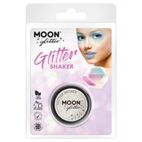 Moon Glitter Iridescent Glitter Shakers White
