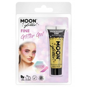 Moon Glitter Iridescent Glitter Gel Yellow