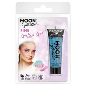 Moon Glitter Iridescent Glitter Gel Blue
