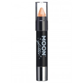 Moon Glitter Iridescent Body Crayons Orange