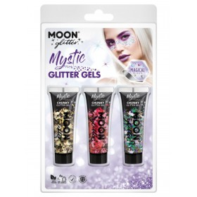 Moon Glitter Mystic Chunky Glitter Gel Mixed Colours