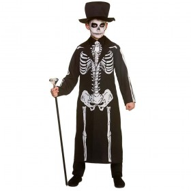 Day of the Dead Skeleton Fancy Dress Costume
