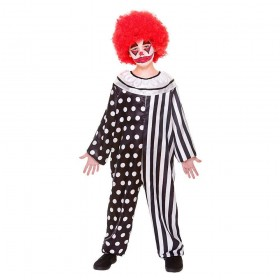Kreepy Klown Fancy Dress Costume