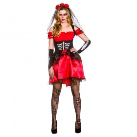 Day of the Dead Senorita Fancy Dress Costume