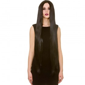 """Classic Extra Long 39"""" - Black Wigs"""