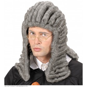 Judge Wig - Grey - Fancy Dress