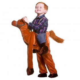 Deluxe Ride On Horse Animal Fancy Dress Costume