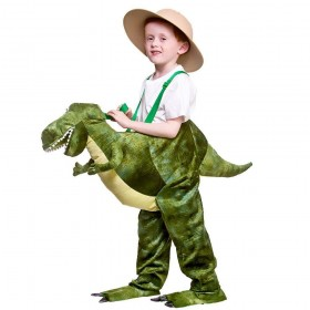 Deluxe Ride On Dinosaur Animal Fancy Dress Costume