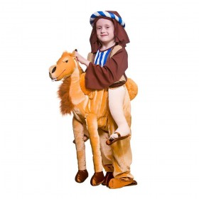 Deluxe Ride On Camel Animal Fancy Dress Costume