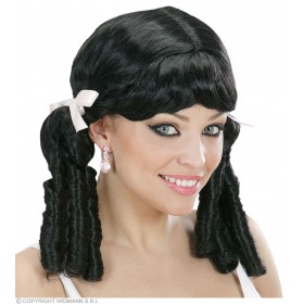 Lolita Wig - Black - Fancy Dress