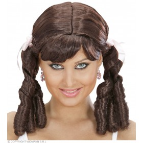 Lolita Wig - Brown - Fancy Dress