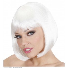 Ladies Lovely Wig - White Wigs - (White)