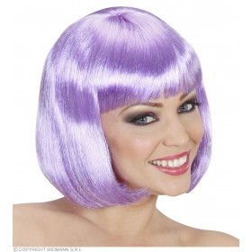 Ladies Lovely Wig - Lilac Wigs - (Purple)