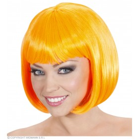 Ladies Lovely Wig - Orange Wigs - (Orange)