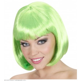 Ladies Lovely Wig - Green Wigs - (Green)