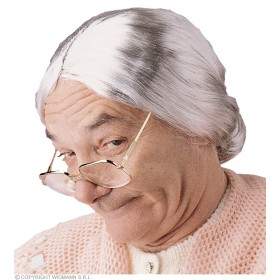 Granny Wig - Fancy Dress Sancl6007