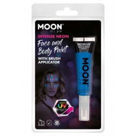 Moon Glow Intense Neon UV Face Paint Blue