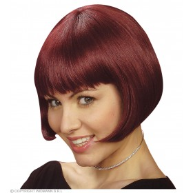 Michelle Wig Red - Fancy Dress