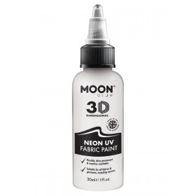 Moon Glow - Neon UV Intense Fabric Paint White