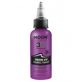 Moon Glow - Neon UV Intense Fabric Paint Purple