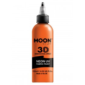 Moon Glow - Neon UV Intense Fabric Paint Orange