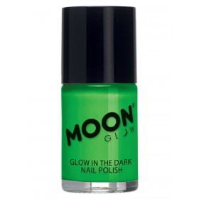 Moon Glow - Glow in the Dark Nail Polish Green