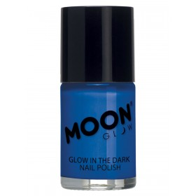 Moon Glow - Glow in the Dark Nail Polish Blue