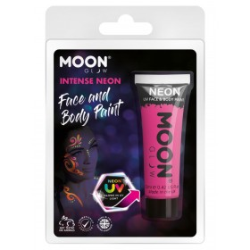 Moon Glow Intense Neon UV Face Paint Hot Pink