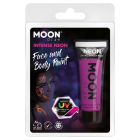 Moon Glow Intense Neon UV Face Paint Purple
