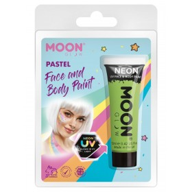 Moon Glow Pastel Neon UV Face Paint Pastel Green