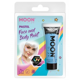 Moon Glow Pastel Neon UV Face Paint Pastel Blue