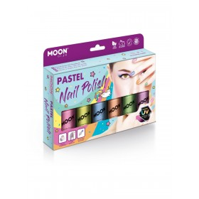 Moon Glow Pastel Neon UV Nail Polish Assorted