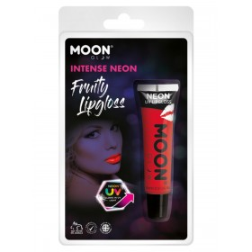 Moon Glow Intense Neon UV Fruity Lipgloss Red