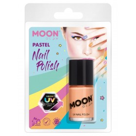 Moon Glow Pastel Neon UV Nail Polish Orange