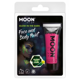 Moon Glow - Glow in the Dark Face Paint Pink
