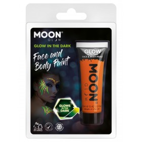 Moon Glow - Glow in the Dark Face Paint Orange