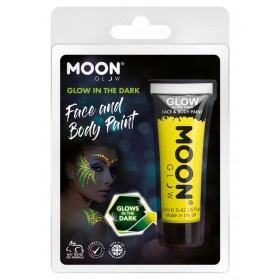Moon Glow - Glow in the Dark Face Paint Yellow