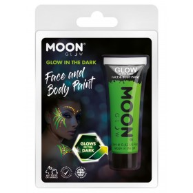 Moon Glow - Glow in the Dark Face Paint Green