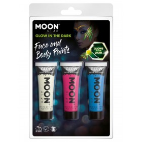 Moon Glow - Glow in the Dark Face Paint