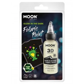 Moon Glow - Glow in the Dark Fabric Paint Clear
