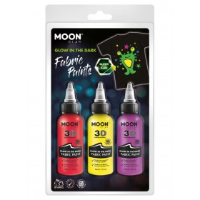 Moon Glow - Glow in the Dark Fabric Paint
