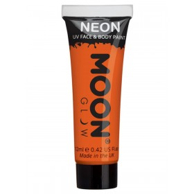 Moon Glow Intense Neon UV Face Paint Orange