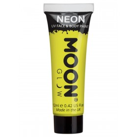 Moon Glow Intense Neon UV Face Paint Yellow