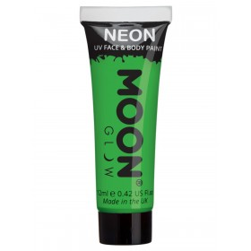 Moon Glow Intense Neon UV Face Paint Green